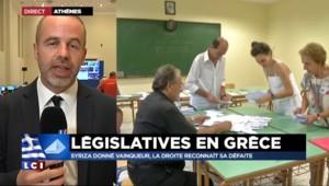 """Législatives grecques : """"On peut s'attendre dès demain matin à avoir un gouvernement constitué"""""""