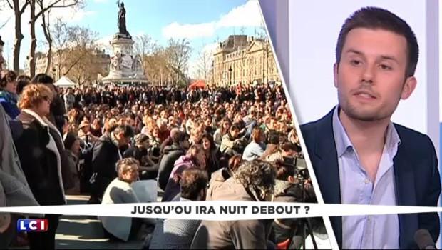 """#NuitDebout : """"Un mouvement très parisien avec des gens d'accord entre eux"""""""