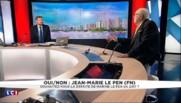"""Jean-Marie Le Pen sur Marine : """"Elle fait des discours Jean-Maristes, elle parle comme moi"""""""