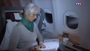 Le 20 heures du 13 novembre 2013 : Une journ�avec Christine Lagarde : une rencontre exclusive - 1128.2939321899414