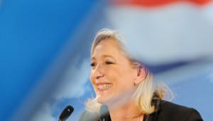 Marine Le Pen le 17 juin à Hénin-Beaumont
