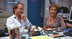 Plus belle la vie : Christophe Beaugrand au commissariat avec deux acteurs