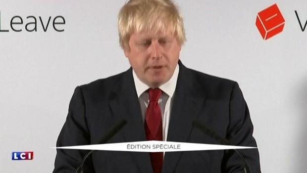 """Boris Johnson sur le Brexit : """"Nous pouvons retrouver notre influence dans le monde"""""""
