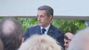 En meeting le 19 juin à l'Isle-Adam, dans le Val d'Oise, Nicolas Sarkozy a comparé la crise migratoire en Méditerranée à une fuite d'eau dans une maison.