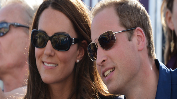 Kate Middleton et William aux JO de Londres, épreuves de cross country
