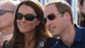 Kate Middleton et William aux JO de Londres, épreuves de cross country