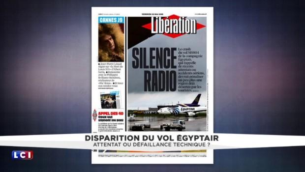 """Disparition du vol EgyptAir : """"Il est très surprenant que l'on n'ait pas plus d'informations sur ce qui s'est passé avec l'avion"""""""