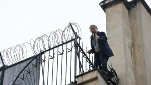 Hervé Couasnon est parvenu à se hisser sur les toits de l'Ambassade américaine à Paris