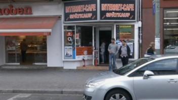 Le cybercafé de Berlin où Luka Rocco Magnotta a été arrêté le 4 juin 2012
