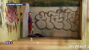 Le phénomène des clowns agressifs se propage en France