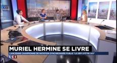 """Muriel Hermine : """"A partir de 40-50 ans, il y a une nouvelle vie qui commence"""""""