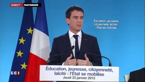 """""""Notre société est fracturée, divisée"""", dit Manuel Valls"""