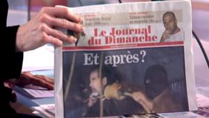 """TF1/LCI : """"Et après ?,"""" la Une du Journal du Dimanche au lendemain de l'exécution de Saddam Hussein"""