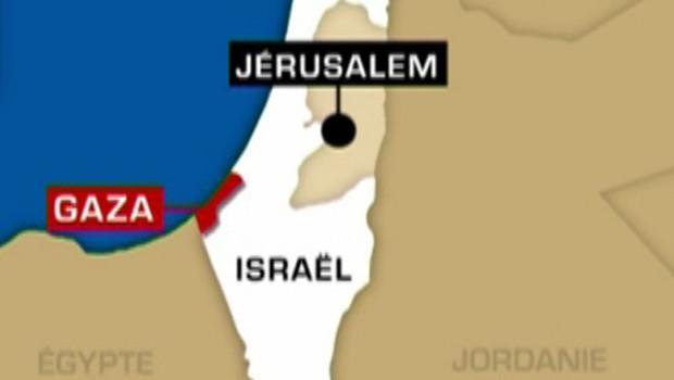 TF1/LCI Gaza Proche-Orient Carte