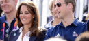 Kate Middleton et William rendent visite aux athlètes anglais