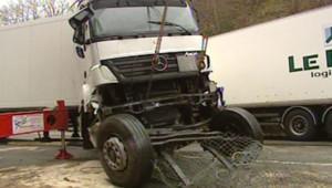 Accident provoqué par le verglas (3 janvier 2007)