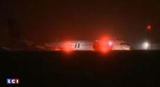 avion halifax sortie de piste