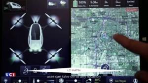 CES : ce drone à hélices va vous conduire où vous le voulez