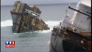 Des conteneurs s'échouent sur les plages en Nouvelle-Zélande