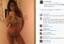Enceinte de huit mois et demi, l'Américaine Sarah Stage expose sur Instagram d'étonnantes photos d'elle où son ventre apparaît à peine rebondi
