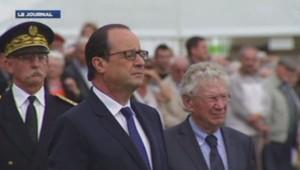 Hollande au Mont-Mouchet