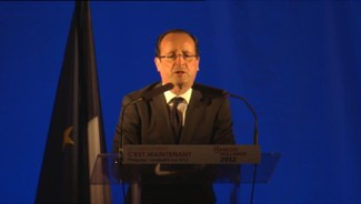 hollande meeting