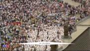 JMJ : Le pape François préside une messe à l'occasion du 1050e anniversaire du baptême de la Pologne
