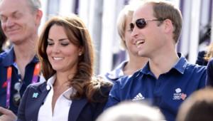 Kate Middleton et William rendent visite aux athlètes anglais