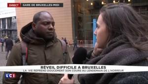 """Bruxelles : """"C'est très compliqué de se déplacer"""""""