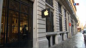 Braquage d'un Apple Store à Paris, un employé blessé