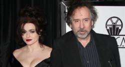 Helena Bonham Carter et Tim Burton en 2013
