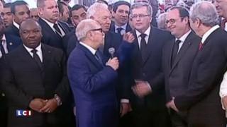 Mitterrand ou Hollande ? Quand le président tunisien se trompe de François