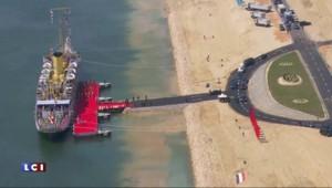 Nouveau canal de Suez : pharaonique, une inauguration à la hauteur du chantier
