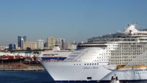 """""""Oasis of the Seas"""" construit par les chantiers finlandais de STX"""