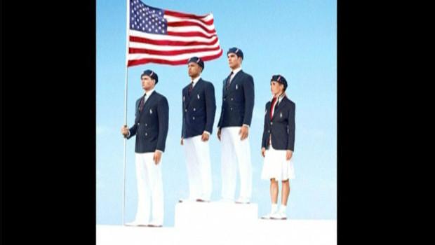 Polémique autour des uniformes officiels de la délégation américaine pour les jeux Olympiques de Londres.