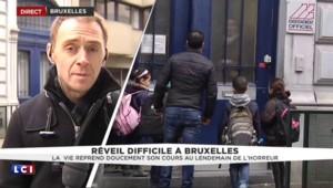 """Attaques de Bruxelles : """"Pas de black-out dans les écoles"""" de la ville"""