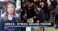 """Grèce : """"Alexis Tsipras vient de voter"""""""