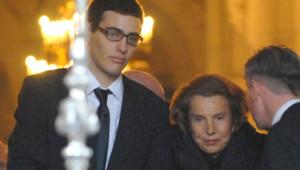 Jean-Victor Meyers et sa grand-mère Liliane Bettencourt en 2007