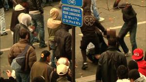 lâcher billet champs mars tour eiffel école militaire émeutes