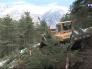Le 13 heures du 30 mars 2015 : Crash dans les Alpes : une route en construction pour faciliter l'accès au site du crash - 1565.602