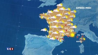 Le temps jeudi : vent, soleil et tempête en Corse