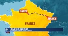 """TGV coincé entre Nancy et Paris : """"On a fini par être tracté"""""""