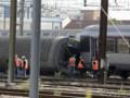 déraillement d'un train à Brétigny-sur-Orge