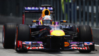 F1 Essais GP Malaisie 2013 Vettel Red Bull