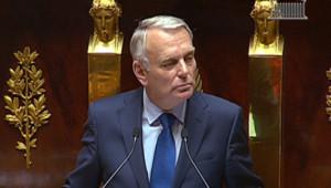 Jean-Marc Ayrault, le Premier ministre, devant l'Assemblée nationale, mardi 3 juillet 2012.
