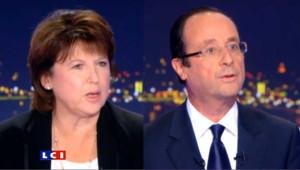 Comment Aubry et Hollandese sont préparés à l'ultime débat