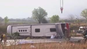 Espagne : 14 morts dans un accident d'autocar, les premières images (20/03)