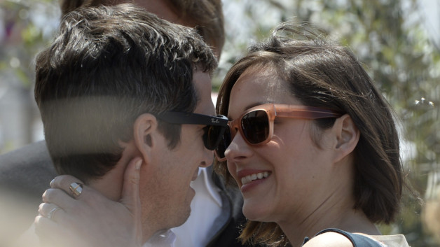 Guillaume Canet et M. Cotillard sur le tapis rouge 