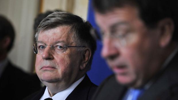 L'ex-PDG de France Telecom Didier Lombard à Paris en 2009