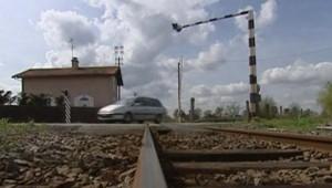 passage à niveau voie ferrée